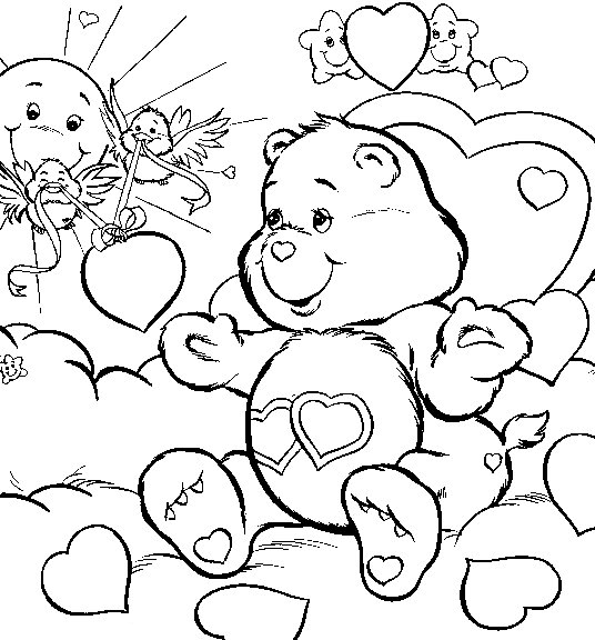 536x576 Free Printable Coloring Pictures