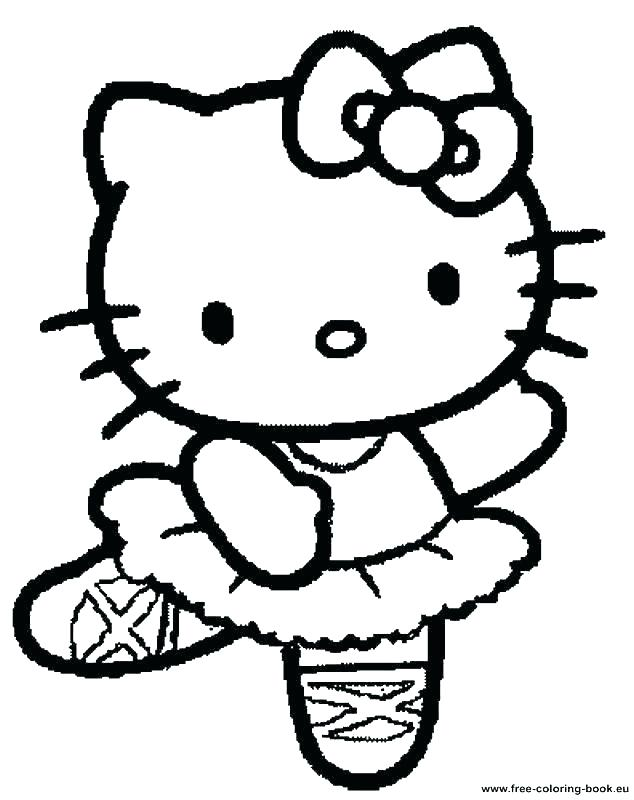 634x800 Coloring Pages To Print Of Hello Kitty Free Coloring Pages Hello