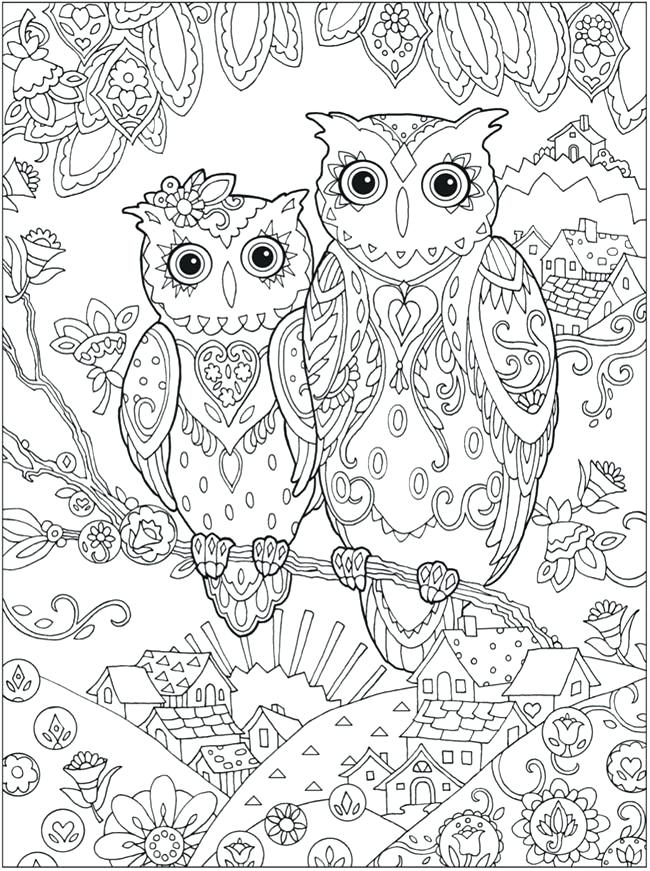 650x871 Free Printable Coloring Sheets For Adults