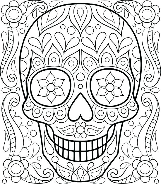 550x627 Coloring Pages For Adults Free Printable