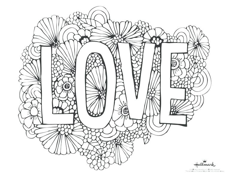 768x594 Coloring Pages For Valentines Day Printable Free Coloring Pages