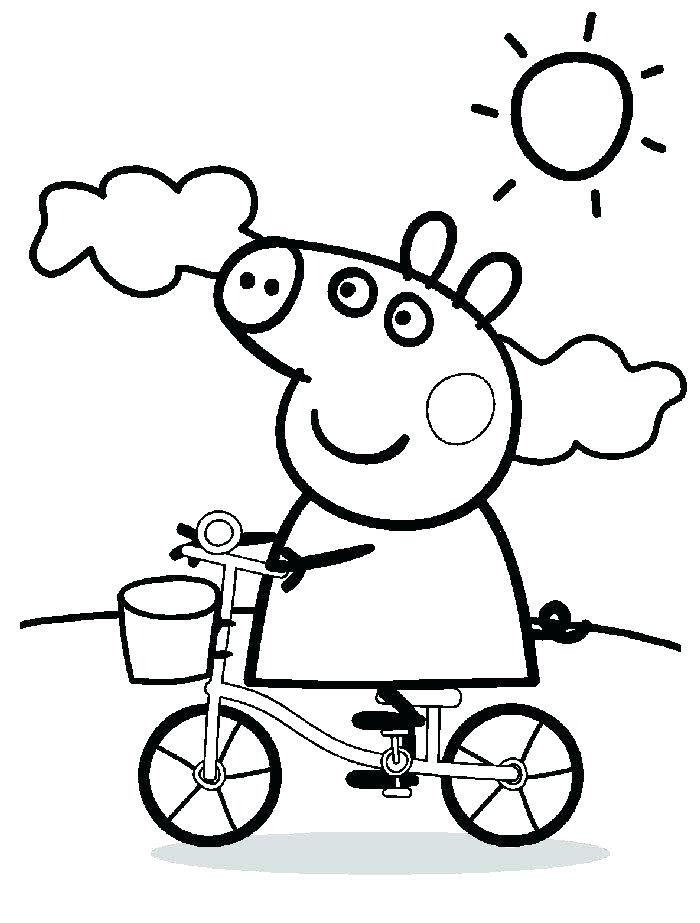 700x923 Free Printable Peppa Pig Colouring Pages Pig Coloring Games Online