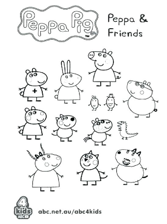 547x730 Peppa Pig Coloring Page Pig Coloring Pages Printable Coloring Page