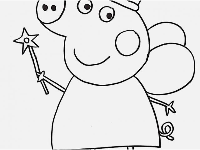 640x480 Peppa Pig Coloring Pages Display Monumental Peppa Pig Coloring