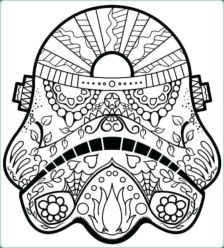 736x816 Free Sugar Skull Coloring Pages For Adults Sugar Skull Coloring