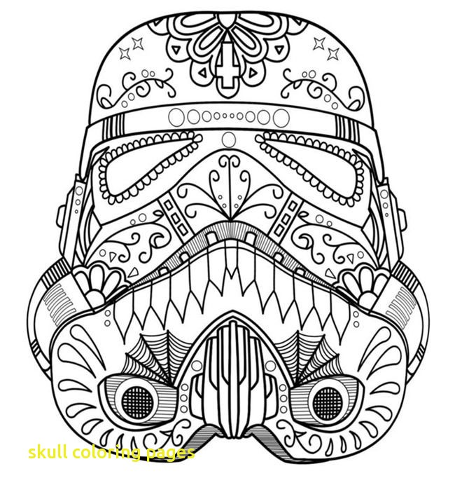 650x702 Skull Coloring Pages With Best Printable Adult Coloring Pages