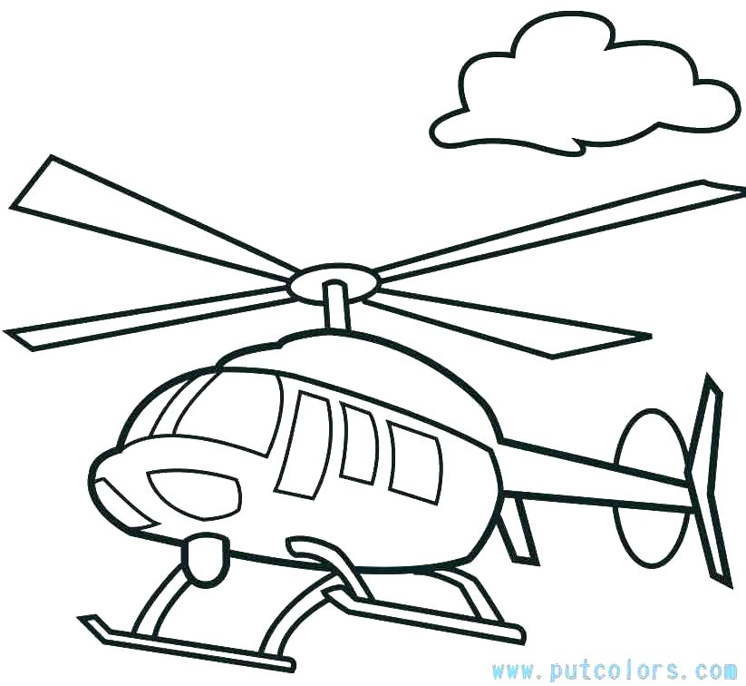Printable Airplane Coloring Pages At Getdrawings Com Free For