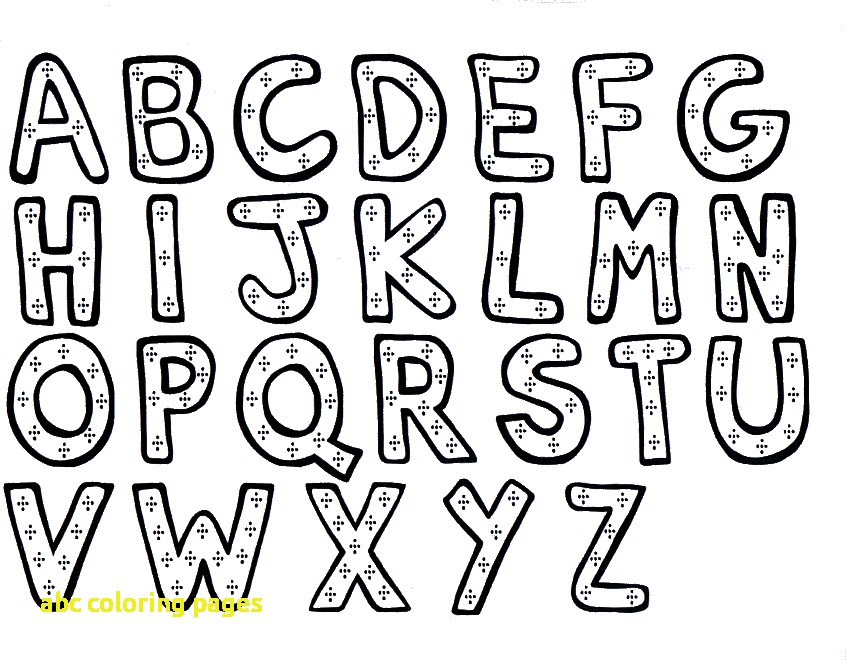 846x660 Printable Abc Pages Abc Coloring Pages With Alphabet Coloring