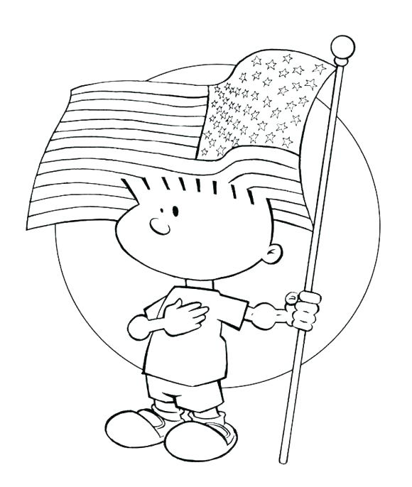 Printable American Flag Coloring Page At Getdrawings Com Free For