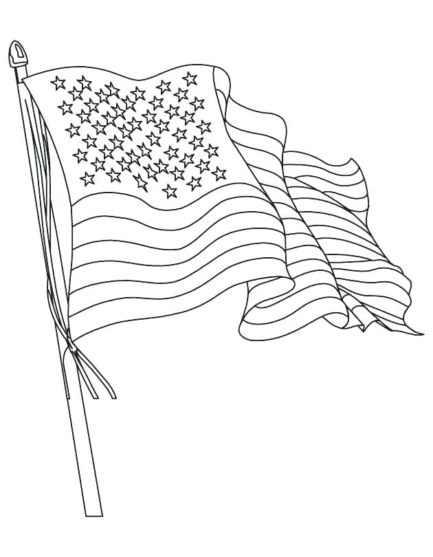 630x810 Flag On Independence Day Coloring Page Download Print South
