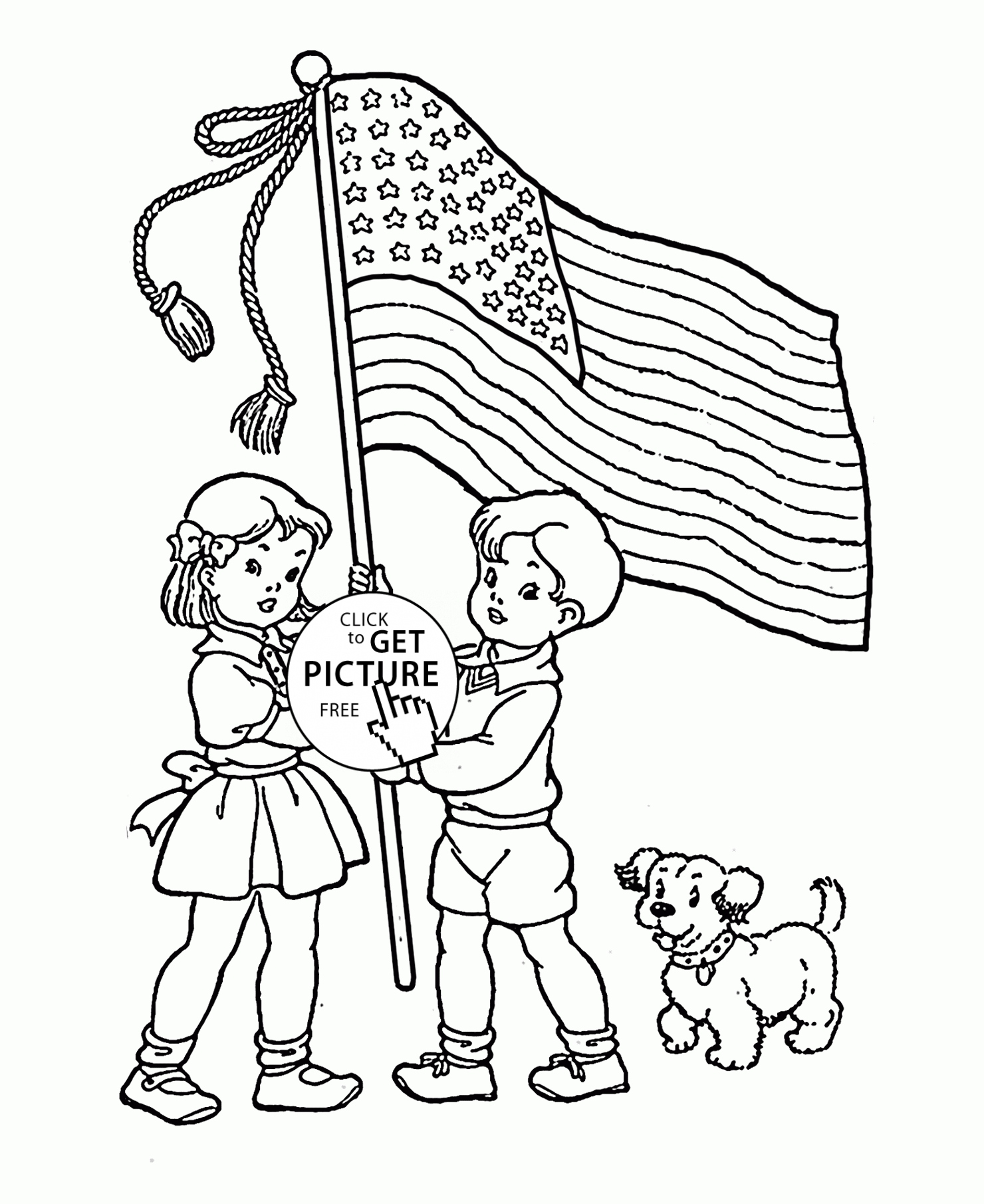 1480x1811 Patriotic Coloring Pages Luxury American Flag Coloring Page