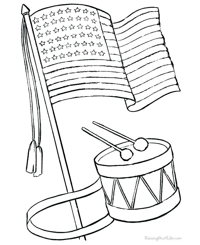 670x820 Printable Usa Flag Coloring Pages Coloring Book Flag Page Elegant