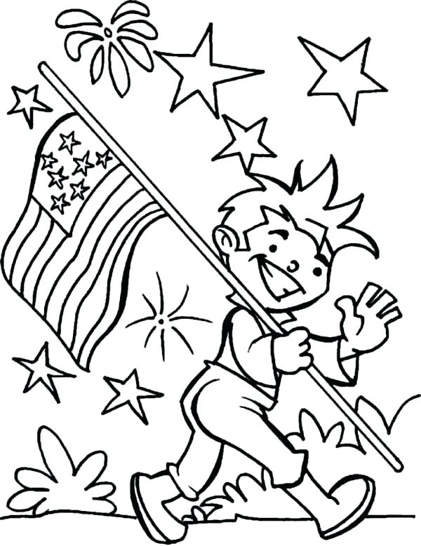 600x779 American Flag Coloring Page United States Of Flag Coloring Page