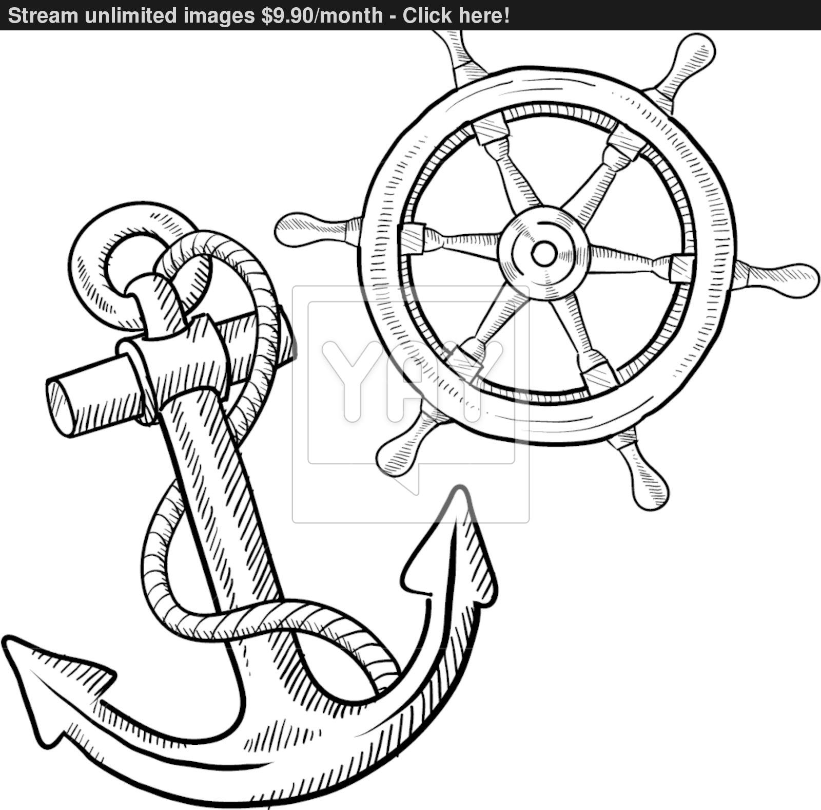 photograph regarding Printable Anchor Template titled Printable Anchor Coloring Web pages at  No cost