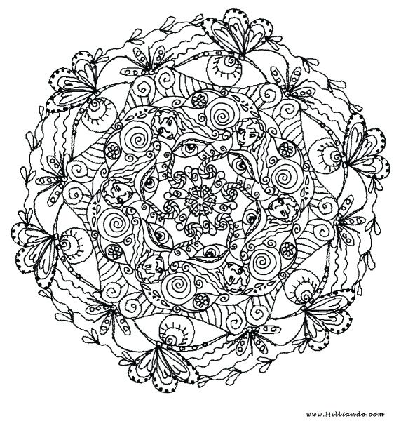 572x600 Art Therapy Coloring Pages Coloring Page Art Therapy Relaxation