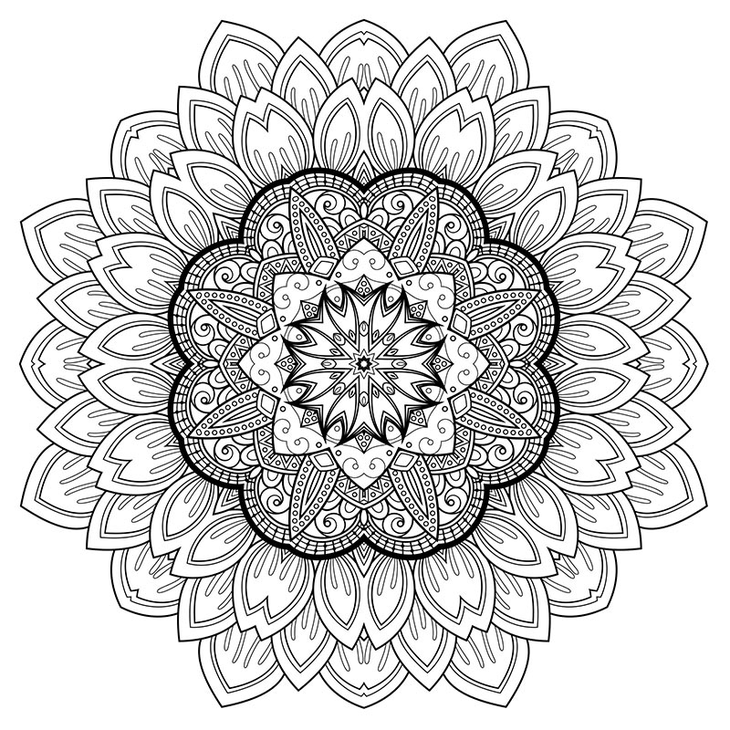 800x800 Drawing As Therapy Art Therapy Relaxation Printable Coloring