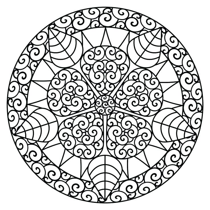 736x736 Therapy Coloring Pages Adult Coloring Pages Mandala Mandala