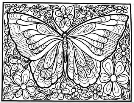 450x345 Art Therapy Coloring Pages Art Meditation Free Coloring Pages