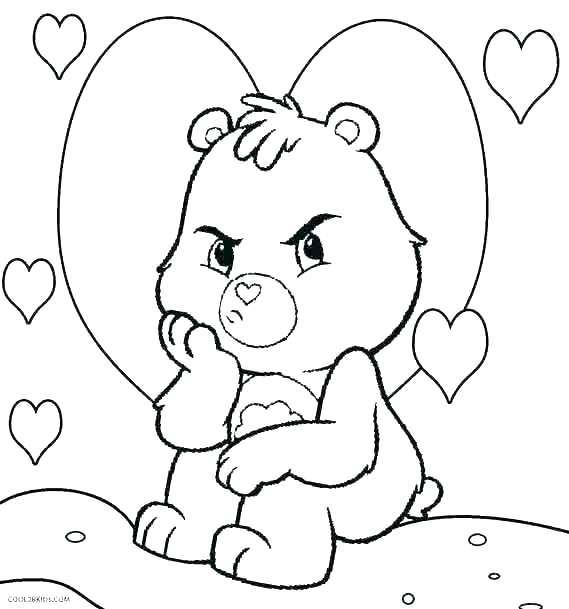 569x609 Black Bear Coloring Page Bear Face Coloring Page Care Bear Black
