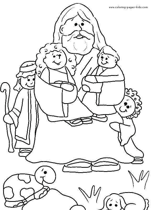 581x800 Printable Bible Coloring Pages Bible Coloring Pages For Kids Free