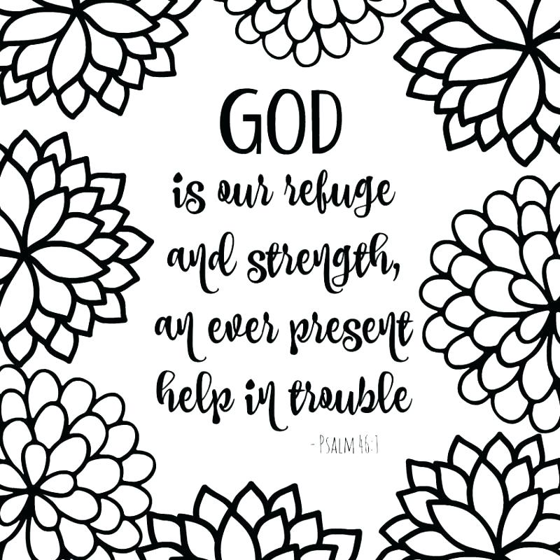 Printable Bible Verse Coloring Pages At Getdrawings Free Download