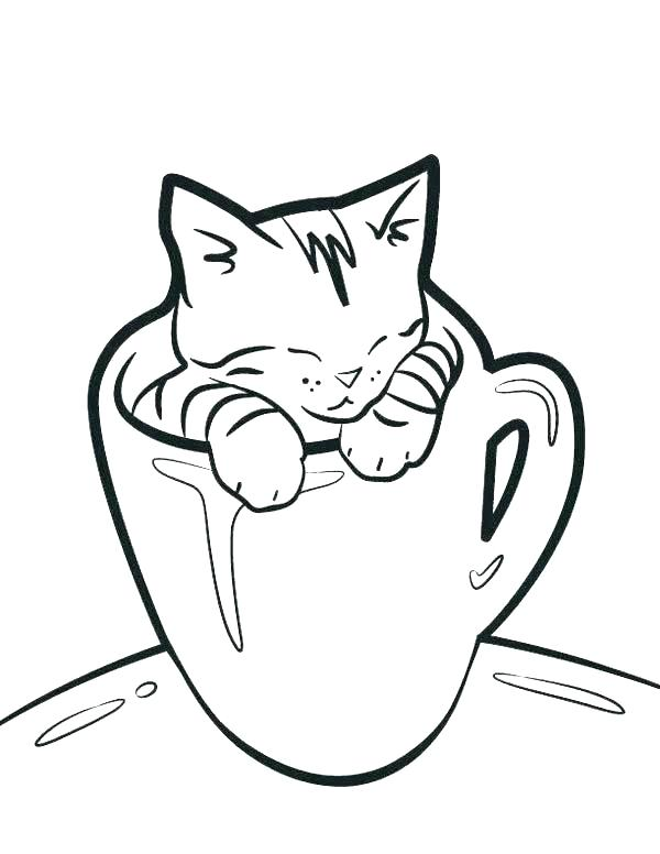 600x776 Free Printable Black Cat Pictures Kids Coloring Cat Coloring Pages