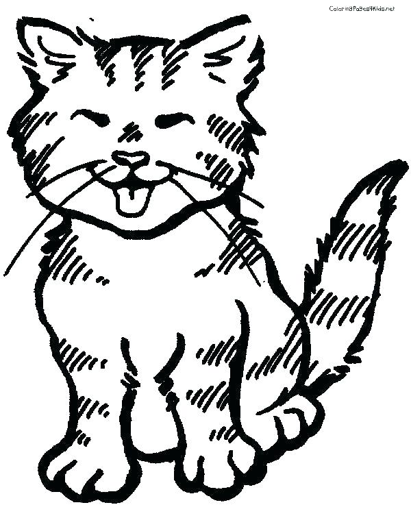 600x756 Black Cat Coloring Page Cat Coloring Pages To Print Warrior Cat