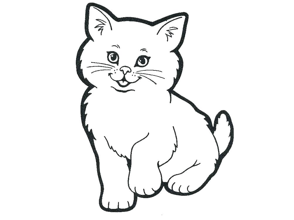 1004x753 Printable Cat Coloring Pages For Adults Coloring Pages Cats Cat