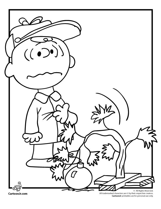 Printable Charlie Brown Coloring Pages