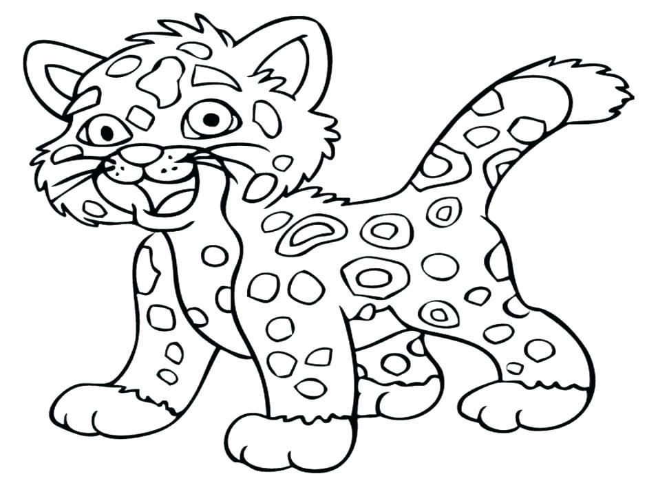 940x705 Printable Cheetah Coloring Pages For Kids Running Cheetah Coloring