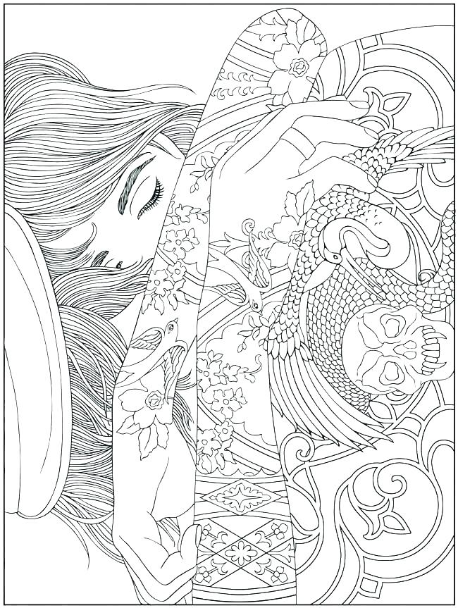 Printable Christmas Coloring Pages For Adults At Getdrawings Com