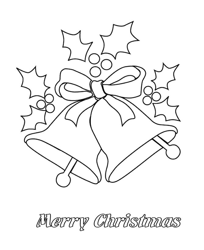 670x820 Free Printable Merry Christmas Coloring Pages