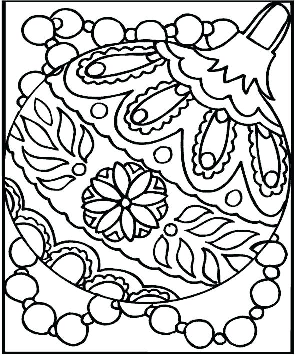 591x709 Christmas Coloring Printables
