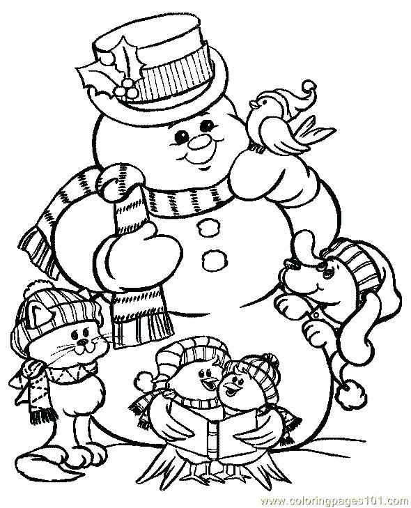 590x729 Christmas Coloring Pages Free Free Printable Christmas Coloring