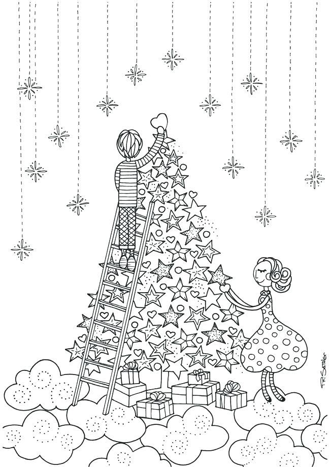 650x919 Christmas Crafts Coloring Pages Free Printable Coloring Pages