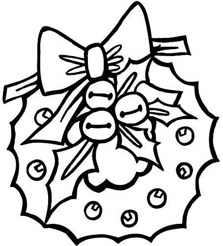 454x500 Free Printable Christmas Coloring Pages For Preschool