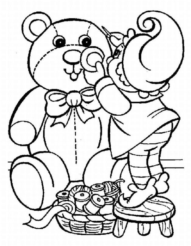 Printable Christmas Coloring Pages For Preschool At Getdrawings Com