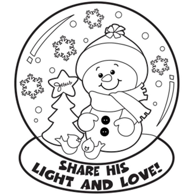 800x800 Free Printable Christmas Coloring Sheets For Kindergarten