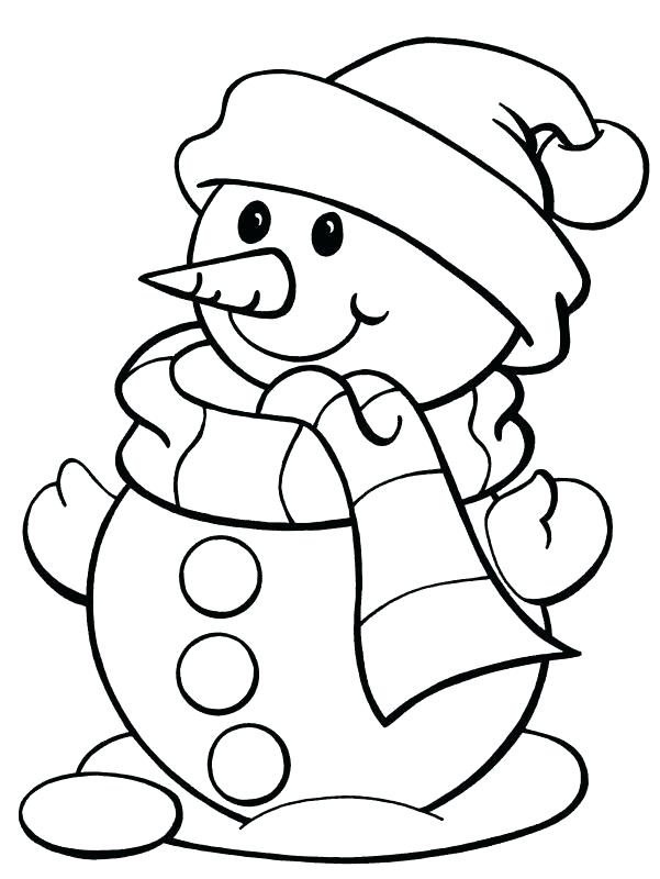 601x800 Printable Christmas Coloring Pages Pdf Free For Preschool Top