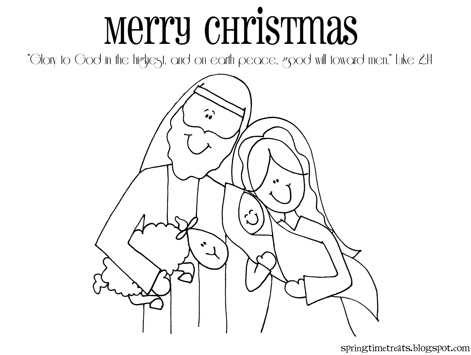 1600x1206 Printable Christmas Coloring Pages Nativity