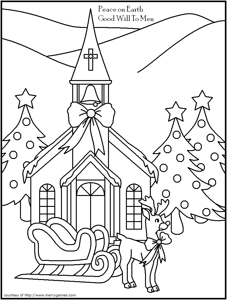 Printable Church Coloring Pages at GetDrawings.com | Free ...