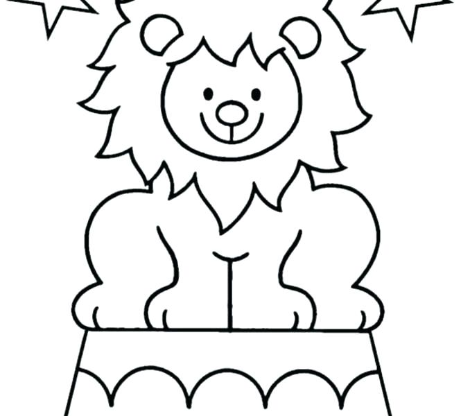 Printable Circus Coloring Pages At Getdrawings Com Free For