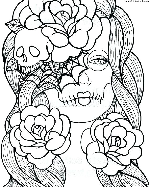 570x713 Colored Coloring Pages Thanksgiving Coloring Pages Already Colored
