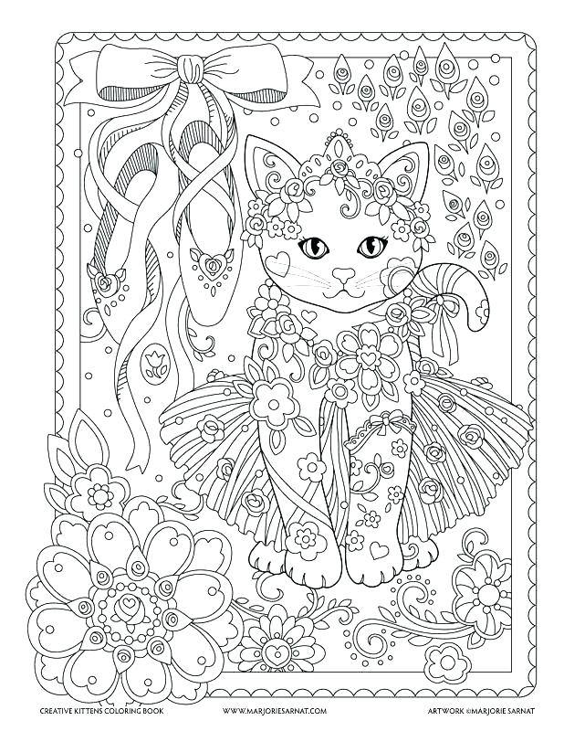 618x800 Kitten Coloring Book Also Coloring Pages Kitten The Kitten