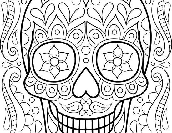 550x425 Free Printable Coloring Pages For Adults Only