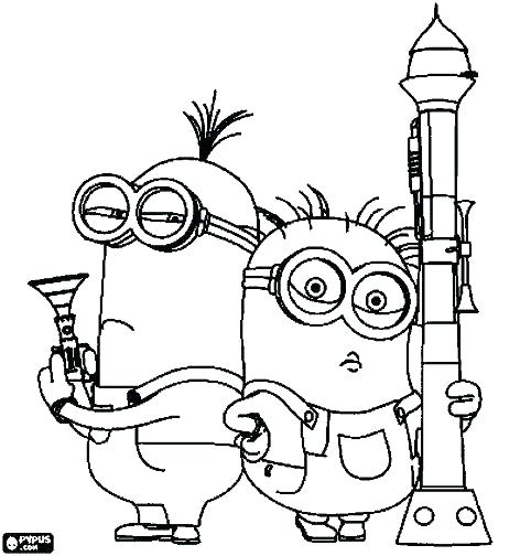 Printable Coloring Pages Despicable Me