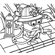 photograph relating to Minion Printable Coloring Pages identify Printable Coloring Webpages Despicable Me at