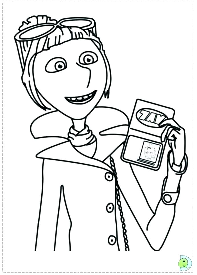 690x960 Despicable Me Coloring Pages Online Minions Despicable Me Disney