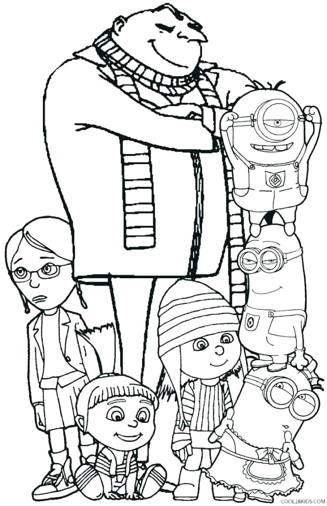 662x1024 Despicable Me Minion Coloring Pages Minion Color Sheets Despicable