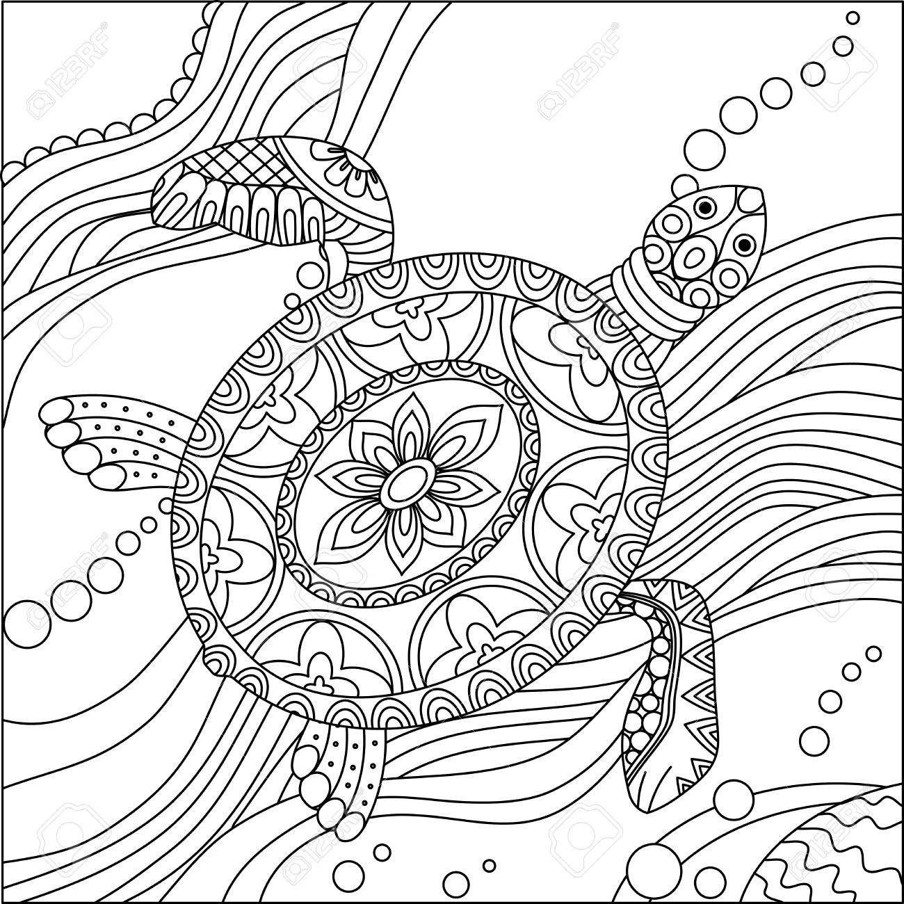 1300x1300 printable adult coloring pages animals free archives page